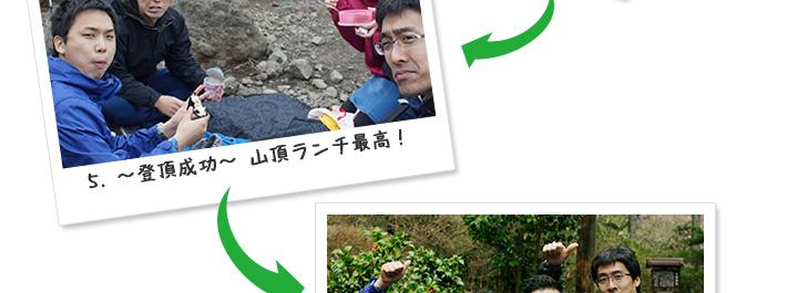 5. ~登頂成功~山頂ランチ最高!