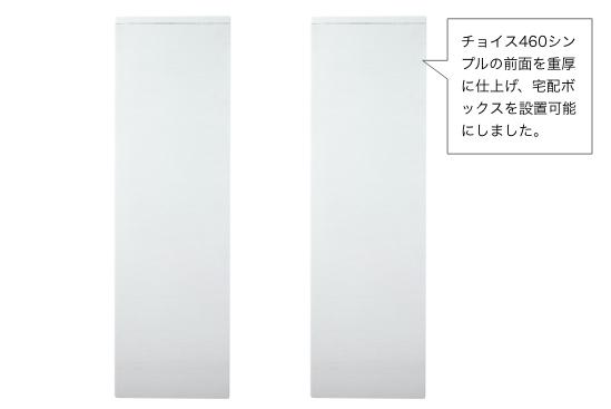 左:チョイス460 シンプル(GW-CH460)/右:チョイス460 TB(GW-CH460TB)